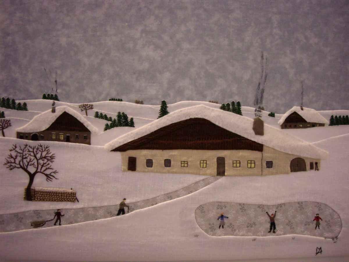 Matin d'hiver dans le Haut-Doubs