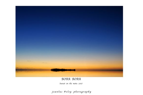 JEANLUCPHOTO pour SUNSET ON THE MOTU