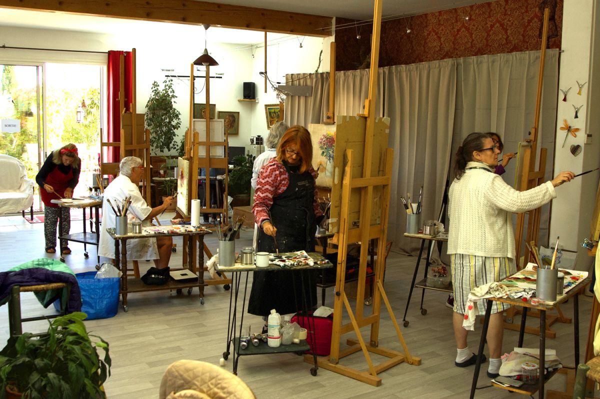 Cours, stages de peintureAtelier Nuances des Arts
